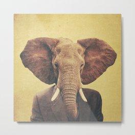 Humanimal: Elephant Metal Print