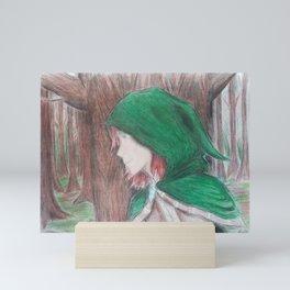 The Hooded Rogue Mini Art Print