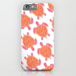 Sea Turtle – Melon Palette iPhone Case