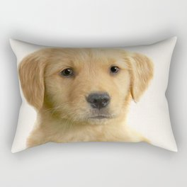 Dog print dog photography minnimalist nursery art animal Rectangular Pillow