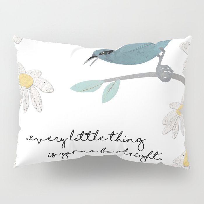 Three Little Birds (Parts 1 and 2) Pillow Sham