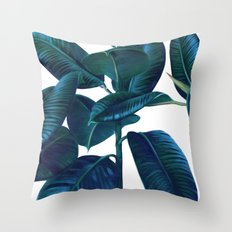 Luna Leaves Throw Pillow