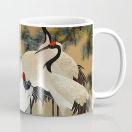 Colorful Painting of egrets Coffee Mug