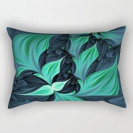 Secret Gaze Rectangular Pillow