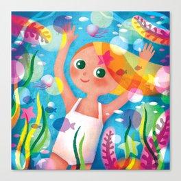 Hello Summer! Canvas Print