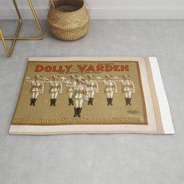 Vintage poster - Dolly Varden Rug