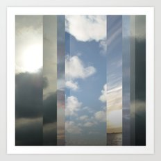 Northern Sky Fragments 6 Art Print