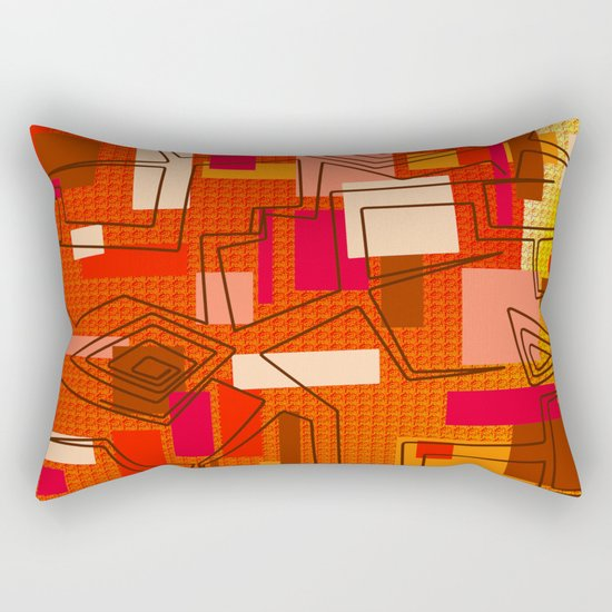 The Hat Dance Rectangular Pillow