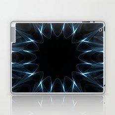 Kaleidoscope in Blue Laptop & iPad Skin