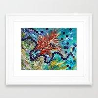big bang Framed Art Prints featuring Big Bang by Art of Leki