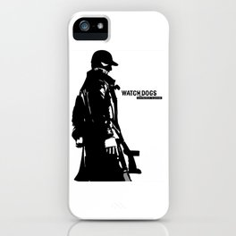 Watch dogs (aiden pearce) iPhone Case