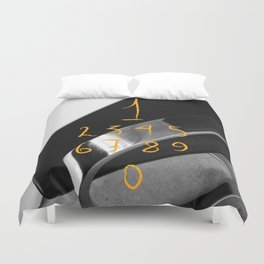 Counting… Duvet Cover
