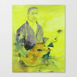 Blind Lemon Jefferson American Blues Musician Canvas Print