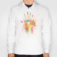 Hoodies featuring Artist Hand (1) by Adil Siddiqui