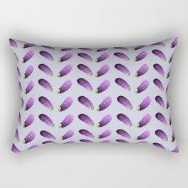Aubergine painting Rectangular Pillow