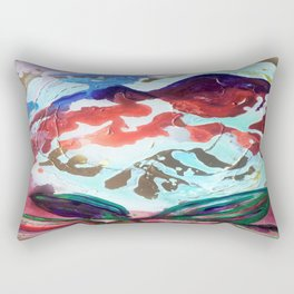 For purple mountain majesties Rectangular Pillow