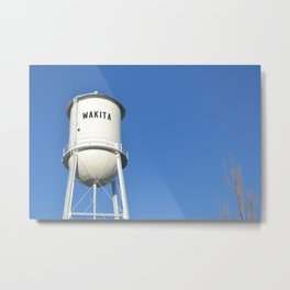 WAKITA OKLAHOMA where Twister was filmed Metal Print