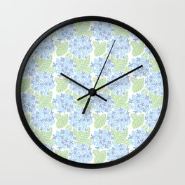 Japanese Pattern 3 Wall Clock