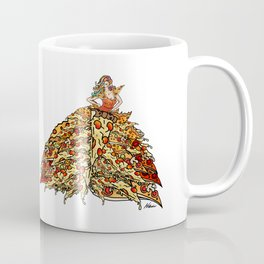 Pizza Dress Coffee Mug