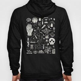Curiosities: Bone Black Hoody