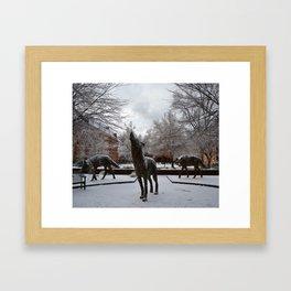 NCSU Framed Art Print