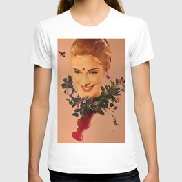 Floral wedding T-shirt