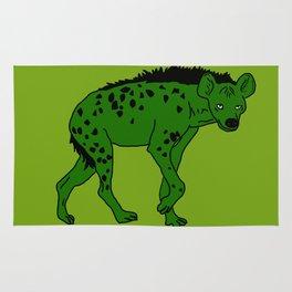 The aberrant hyena Rug
