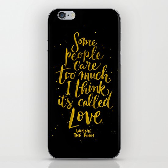 It's Called Love  iPhone & iPod Skin