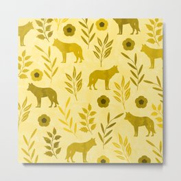 Forest Animal and Nature III Metal Print