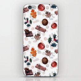 Christmas morning iPhone Skin