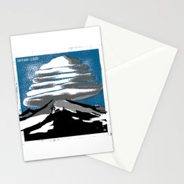 Lenticular Clouds. Stationery Cards