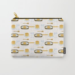 Cute pancake day breakfast illustration Carry-All Pouch