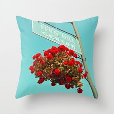 Fern Hill Center Throw Pillow