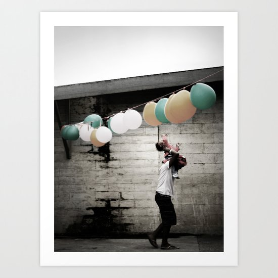 For a moment I remembered. Art Print