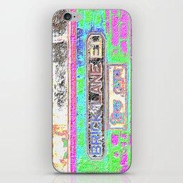 Brick Lane, Crayon iPhone Skin