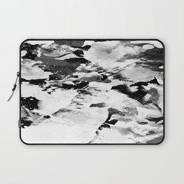 Blk Marble Laptop Sleeve