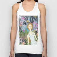 belle Tank Tops featuring Belle by inara77