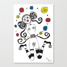 Palhacinha Canvas Print