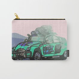 2CV (Cyan) Carry-All Pouch