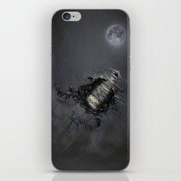 Overload the moon! iPhone Skin