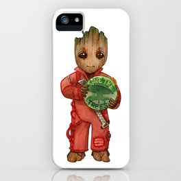Save the trees iPhone Case