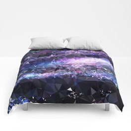 Galaxy Low Poly 42 Comforters