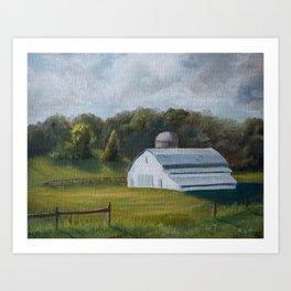Virginia 72/100 Art Print