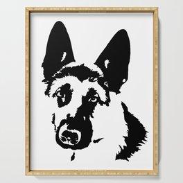 German Shepherd Dog Gifts Serving Tray