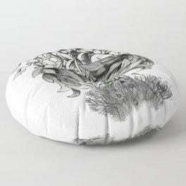 The Original Sin Floor Pillow
