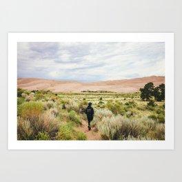 Great Sand Dunes National Park - Colorado Art Print