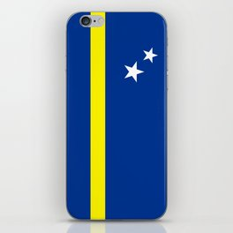 Curacao country flag iPhone Skin