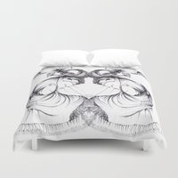 evolution Duvet Covers featuring EVOLUTION by NM Artz
