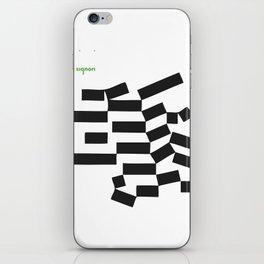 piano signori iPhone Skin