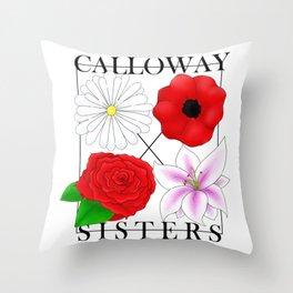 Calloway Sisters Throw Pillow